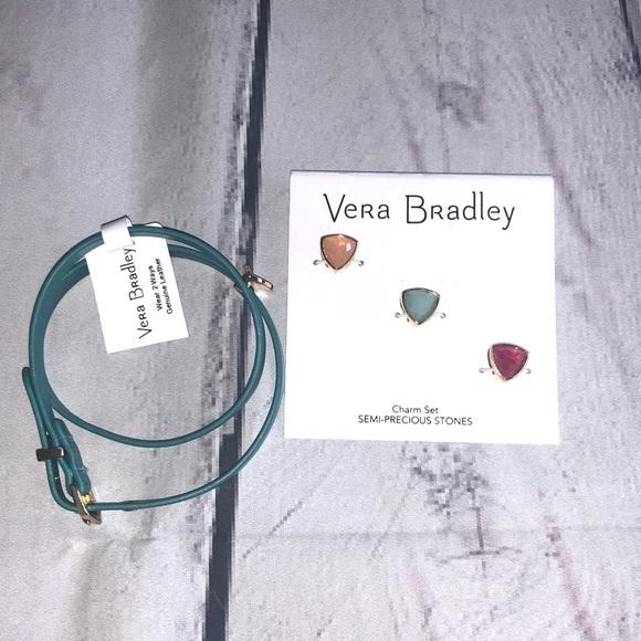 Vera Bradley Jewelry - Charms Adjustable Wrap Bracelet by Vera Bradley